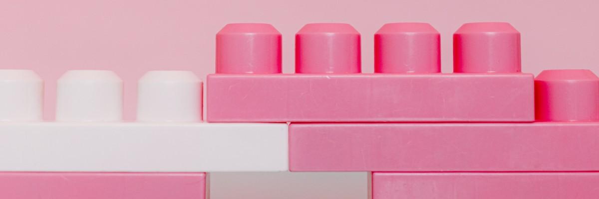 Dėlionės, Kaladėlės, Lego