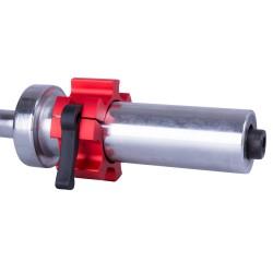 50mm užspaužiamas grifo užraktas CL-21 Red (2vnt.)
