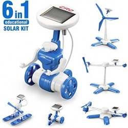 6 in 1 solar kit – robotas konstruktorius