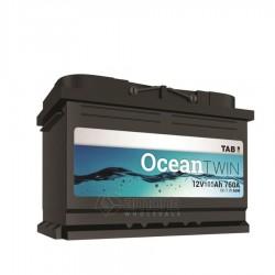 Akumuliatorius TAB 105 Ah Ocean Twin