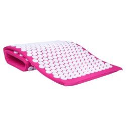 Akupresūros kilimėlis inSPORTline AKU-1000 125x50cm - Pink