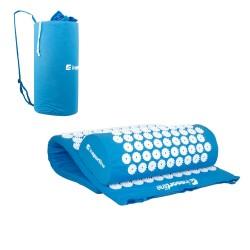 Akupresūros masažuoklis-aplikatorius (pagalvėlė + kilimėlis) inSPORTline Alavea -  Blue