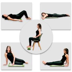 Akupresūros masažuoklis-aplikatorius (pagalvėlė + kilimėlis) inSPORTline Alavea