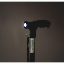 Aliuminė Lazdelė Su LED Prožektoriumi
