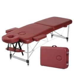 Aliumininis sulankstomas masažo stalas 2 dalių Spartan Bett Aluminum