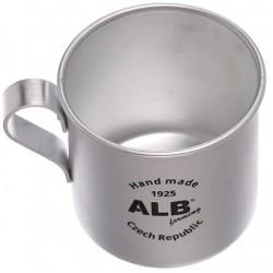 Aliuminio Puodelis ALB, 400 ml
