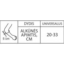 Alkūnės įtvaras RT3-5-1R pilkas