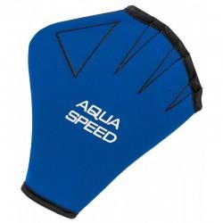 Aqua fitneso AQUA SPEED pirštinės blue