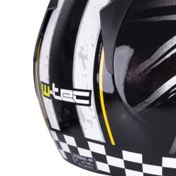 Atviras motociklininko šalmas W-TEC FS-715B Union Black