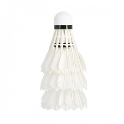 Badmintono plunksniukai Wish PRO-808 balti, 3vnt.