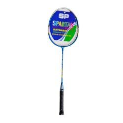 Badmintono raketė Spartan Bossa - Cream White-Blue