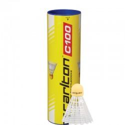Badmintono skrajukės CARLTON C100 6 vnt.