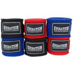 Bandažai boksui Evolution  SB-300, mėlyni
