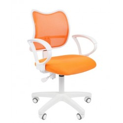 Biuro kėdė CHAIRMAN 450 LT White Orange
