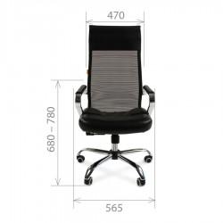 Biuro kėdė CHAIRMAN 700 Mesh Black