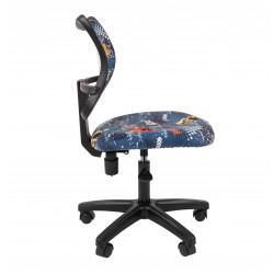 Biuro kėdė CHAIRMAN KIDS 102 Juoda - Su mašinomis