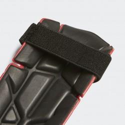 Blauzdų apsaugos adidas Ghost Reflex Red su čiurnų apsauga