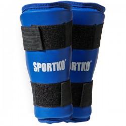 Blauzdų apsaugos SportKO 332 -  Blue  XL