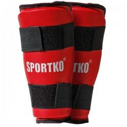 Blauzdų apsaugos SportKO 332 - Red L
