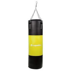 Bokso kriaušė-maišas inSPORTline 150/35 50–100kg - Black-Yellow
