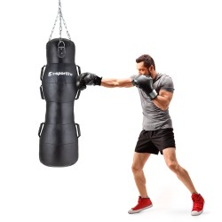 Bokso maišas su rankenomis inSPORTline Luttor 120cm - Black