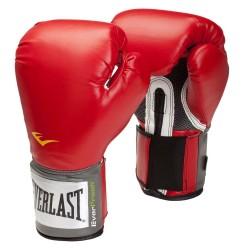 Bokso pirštinės Everlast Pro Style 2100 Training - Red S(10 oz)
