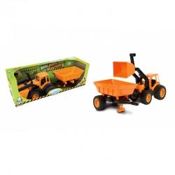 """Buldozeris """"Mochtoys Traktor"""" su priekaba"""