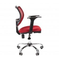 Darbo Kėdė CHAIRMAN 450 Chromas - Raudona