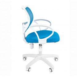 Darbo Kėdė CHAIRMAN 450 LT Balta - Šviesiai mėlyna