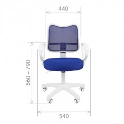 Biuro kėdė CHAIRMAN 450 LT White Black