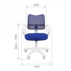 Biuro kėdė CHAIRMAN 450 LT White Red