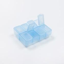 Dėžutė tabletėms, 8 skyrelių