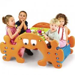 """Didelis Vaikiškas Iškylų Stalas """"FEBER 2in1"""""""
