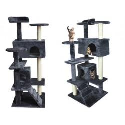 Draskyklė katėms, 120 cm, ruda