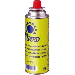 Dujų balionėlis 227 g MEVA (valve, thread)