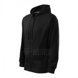 Džemperis vyriškas Malfini Trendy Zipper Black