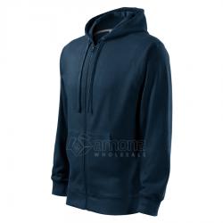 Džemperis vyriškas Malfini Trendy Zipper Navy Blue