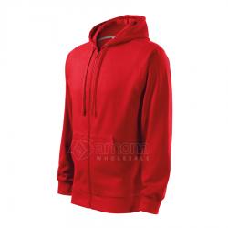 Džemperis vyriškas Malfini Trendy Zipper Red