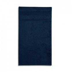 Ekologiškos Medvilnės Rankšluostis Malfini Organic Nawy Blue 50x100cm.