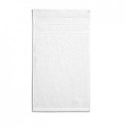 Ekologiškos Medvilnės Rankšluostis Malfini Organic White 50x100cm.