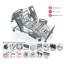 Elektrinė reanimacinė funkcinė lova FBET-ICU