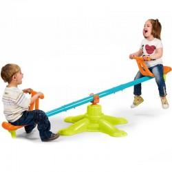 Ekvivalentiškos Sūpynės Feber Dviejų Asmenų Karuselė 2in1 Duo Swing