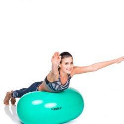 Fizioterapijos kamuolys Original PEZZI Eggball Maxafe 45x65, žalias