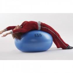 Fizioterapijos kamuolys Original PEZZI Eggball Maxafe 65x95, mėlynas