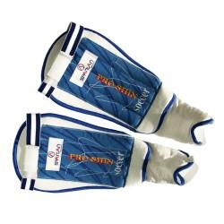 Futbolo apsaugos Spartan Free Kick - White-Blue L