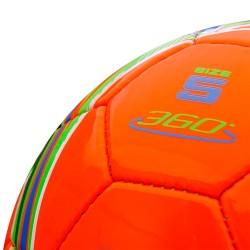 Futbolo kamuolys Meteor 360 Shiny, raudonas