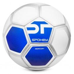 Futbolo kamuolys Spokey MERCURY balta/mėlyna