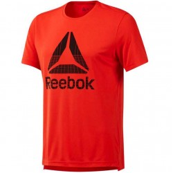 Futbolo marškinėliai Reebok Workout Graphic Tech Tee DU2198