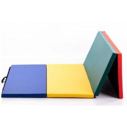 Gimnastikos čiužinys 116 x 232 cm multicolour