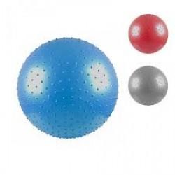 Gimnastikos ir masažo kamuolys Raudonas